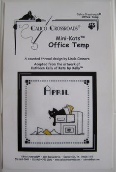 Calico Crossroads Kats By Kelly April Office Temp by CSCDestash, £5.00