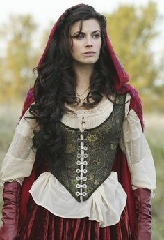 once upon a time red riding hood cloak back - Google Search
