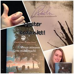"I won this awsome signed copy of ""A Monster Called"" by Patrick Ness and Siobhan Dowd in my favorite book store Voster in Dronten, NL. Thank you!!!"