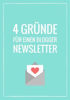 4 Gründe warum dein Blog einen Newsletter braucht