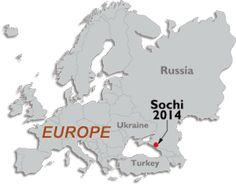 sochi map 2014 and locator map of sochi winter olympics 2014