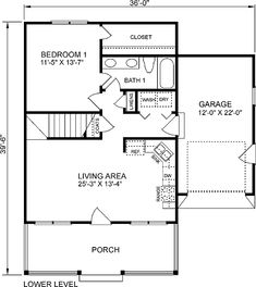 Plan No.652721 House Plans by WestHomePlanners.com