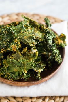 Recipe: Cheesy Vegan Kale Chips — Snack Recipes from The Kitchn