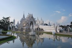 Chiang Rai - Thailand - Wat Rong Khun Or The White Temple