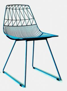 Wire Chair For Patio. Very Modern.