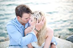 Beach Engagement Session by Kelly Dillon Photography  Read more - http://www.stylemepretty.com/massachusetts-weddings/2011/09/21/beach-engagement-session-by-kelly-dillion-photography/