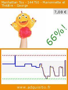 Manhattan Toy - 144750 - Marionnette et Théâtre - George (Jouet). Réduction de 66%! Prix actuel 7,08 €, l'ancien prix était de 20,58 €. http://www.adquisitio.fr/manhattan-toy/144750-marionnette