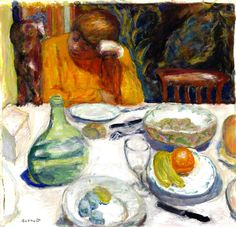 The Provencal Carafe by Pierre Bonnard