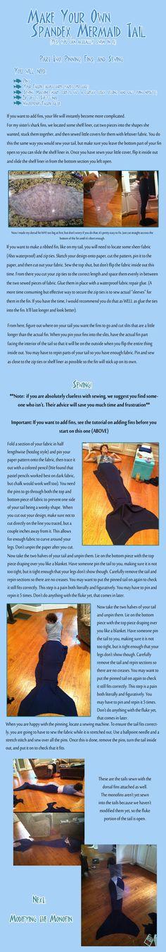 Spandex Mermaid Tail Tutorial part 2 Diy Mermaid Tail, Siren Mermaid, Mermaid Style, Cosplay Tutorial, Cosplay Diy, Nami Cosplay, Cosplay Ideas, Unicorns And Mermaids, Mermaids And Mermen