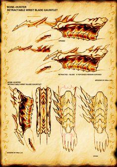 Predator Blade Gauntlet by Uratz-Studios on DeviantArt