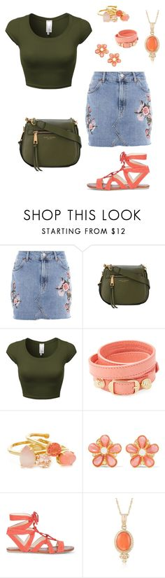 """""""Girly Tom Boy!"""" by master-fashionista ❤ liked on Polyvore featuring Topshop, Marc Jacobs, Balenciaga, Kate Spade, Ben-Amun, Sole Society and Ross-Simons"""