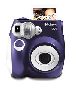 Take a look at this Purple Analog Polaroid Camera & Film Set by Polaroid on #zulily today!