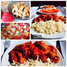 Pui chinezesc dulce-acrișor Tandoori Chicken, Lunch, Ethnic Recipes, Food, Meals, Lunches, Yemek, Eten