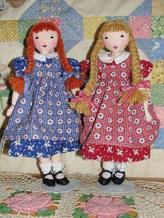 Cute (free!) vintage doll pattern | Wren*Feathers