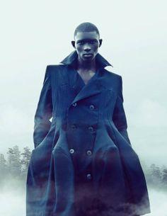 Supermodel Fernando Cabral/Guinea- Bissau
