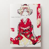 """""""tegami,"""" the Japanese word for """"letter,"""" presents greeting cards and posters developed by emerging Japanese designers."""