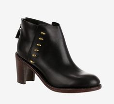Rag & Bone Black Booties