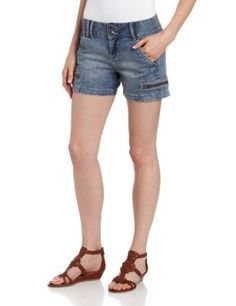 Calvin Klein Jeans Women's Light Wash Cargo Short Price:$39.50 & FREE Shipping
