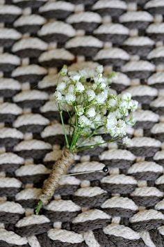 I think babies breath will play a big role in the wedding. Its simple and inexpensive and goes with the rustic theme. Id love it as a boutonniere and as the centerpieces Fall Wedding, Diy Wedding, Dream Wedding, Babys Breath Boutonniere, Diy Boutonniere, Groom And Groomsmen, Bride Bouquets, Bridal Flowers, Here Comes The Bride