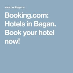 Booking.com: Hotels in Bagan. Book your hotel now!