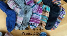 Handgestrickte Wollsocken | | GUFRU Plaid Scarf, Fashion, Too Nice, Diy Home Crafts, Kids Footwear, Handarbeit, Cast On Knitting, Moda