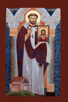 """Happy Feast Day of St Augustine of Canterbury """"The Apostle of England"""" – May 27 #pinterest Work was sometimes slow and Augustine did not always meet with success. Attempts to reconcile the Anglo-Saxon Christians with the original Briton Christians (who had been driven into western England by ........  Awestruck.tv"""