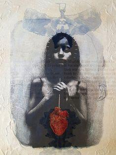I always carry my heart with me (digital) - Jaya Suberg (b. 1956)