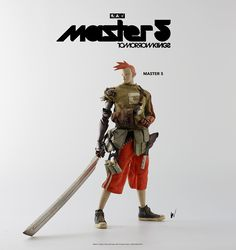 Master 5 will be available for pre-order on June 30th at www.bambalandstore.com – $180USD, price includes shipping via courier worldwide. #threeA #AshleyWood #AshleyWoodArt #WorldOf3A #WO3A #Popbot #TomorrowKings #7Bones #SevenBones