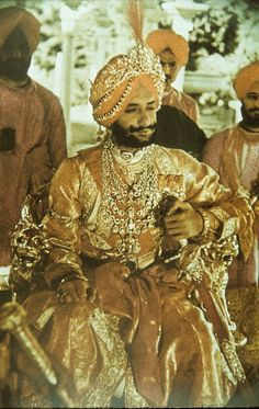 Gods and Foolish Grandeur: Maharaja Yadavindra Singh, Mahendra Bahadur, Maharaja of Patiala, circa 1938