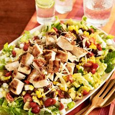 BBQ Chicken Chopped Salad Recipe - Good Housekeeping