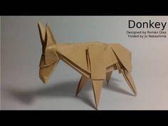Origami Donkey (Román Díaz) - not a tutorial