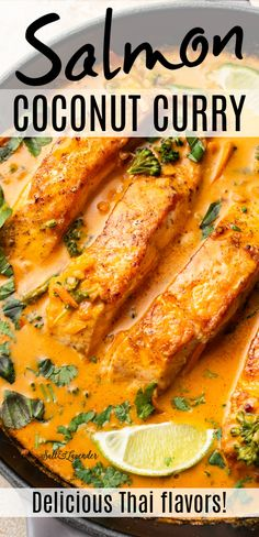 Baked Salmon Recipes, Seafood Recipes, Chicken Recipes, Vegetarian Recipes, Cooking Recipes, Fish Sauce Recipes, Fish Dinner, Seafood Dinner, Coconut Milk Recipes