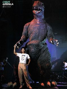 For The Return of Godzilla (1984), Toho spent nearly half a million dollars to build a sixteen-foot, hydraulically operated version of the Big G. It ended up bearing little resemblance to the Godzilla suit also used in the movie, moved unconvincingly, and can be seen only fleetingly in the final cut.