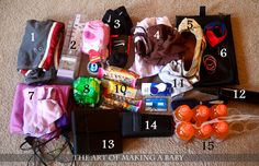 Hospital Bag packing list {and thank you to the lovely mom who put this list together, saving me time and energy.}