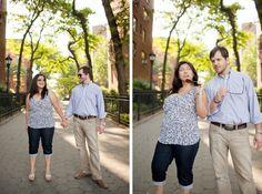 Brooklyn engagement session. Photos by Casey Fatchett - www.fatchett.com