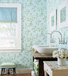 Verde menta para banheiro.