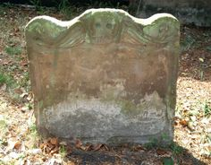 A winged death's head (symbol of death and resurrection) spotted on a gravestone in Fordwich, Kent. (Photo: Clare Gibson)