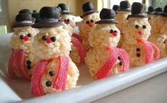 Rice kri spies snow people