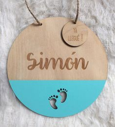 Plywood Projects, Gravure Laser, Laser Cutter Projects, Plate Design, Baby Decor, Sign Design, Baby Boy Shower, Baby Names, Baby Room