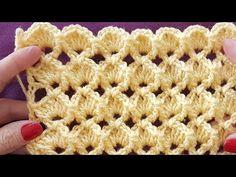 3Boyutlu Kolay Model / Crochet 3D tutorial - YouTube Bobble Crochet, Baby Blanket Crochet, Crochet Motif, Easy Crochet, Crochet Flowers, Crochet Baby, Knitting Videos, Crochet Videos, Crochet Stitches Patterns