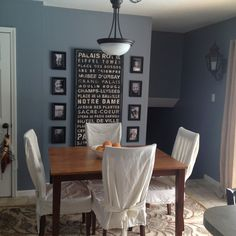 Van Courtland Blue Dining Room Maybe This Is A Better Shade Of