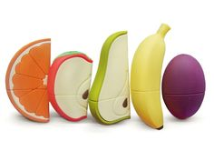 Fruits USB, #special & weird. #fruits #usb #weirdtechnology #flashdrive #ideasforliving