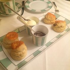 Craving this!!! #Clairdges #London #scones #clottedcream #marcopologelée #afternoontea