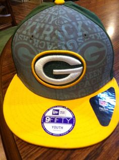 Youth Green Bay  Packers  NFL Team Green Hat Cap Snapback  Football from   20.0 d67a1db8dd7a