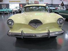 Kaiser Darrin, White, for sale in Greenwood, Indiana. #ClassicCar