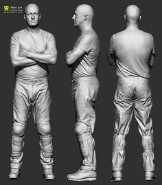 3d scan figure