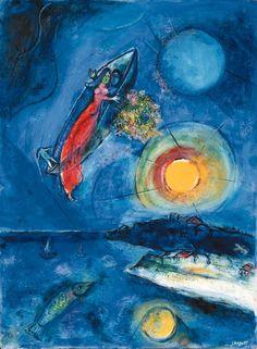 Marc Chagall, La barque Saint-Jean