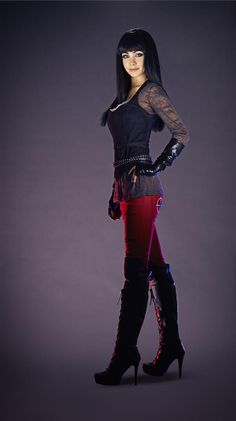Ksenia Solo from Lost Girl - my favorite character