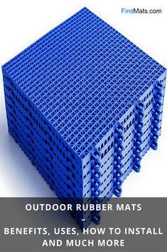 outdoor rubber mats rubber mat