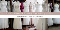 Wyprzedaż sukien ślubnych w salonie mody ślubnej Madleine w Poznaniu, ul. Głogowska 32 Zapraszamy od poniedziałku-piątku w godz. 10:00-18:00, sobota 10:00-14:00. Specjalnie dla Was otwieramy również w niedzielę 4 września 2016 roku w godz. 12:00-16:00 Suknie w cenie już od 600 złotych!!! Do zobaczenia... ;-) #sale #wyprzedaz #price #cena #sukniaslubna #weddingdress